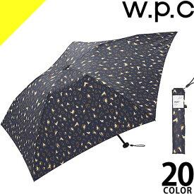 [定価2,700円→1,899円] wpc w.p.c 折りたたみ傘 軽量 2019年新作 レディース メンズ 雨傘 超軽量 コンパクト 丈夫 撥水 かわいい ブランド Air Light 90g 花柄 ハート ストライプ ボーダー