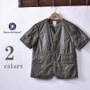 ★30%OFF SALE!【POST OVERALLS】ポストオーバーオールズRoyal Traveler Shirt-1/2(#1267B)NYLON TAFFTA WITH TH…