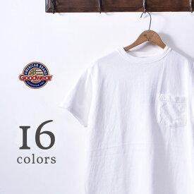 2021年モデル【GOOD WEAR】グッドウェアS/S crew neck Pocket T-shirts半袖 クルーネックポケットTシャツ日本正規代理店 ソーズカンパニー全16色[ゆうパケット対応]z10x