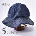 【orslow】オアスロウUS NAVY HAT(03-001)ユーエスネイビー ハット全4色(DENIM WHITE ST・KHAKI・GREEN・HICKORY S…