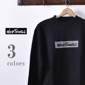 【WILDTHINGS】ワイルドシングスREF CREW(WT19143N)レフクルー クルーネック スウェット トレーナ—全3色z10x