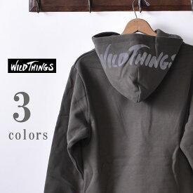 【WILDTHINGS】ワイルドシングスREF HOODY(WT19141N)レフフーディー スウェットパーカー全3色z10x