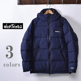 【WILDTHINGS】ワイルドシングスSNUG DOWN PARKA(WT19108N)スナッグダウンパーカー ダウンジャケット全3色(MOCA・NAVY・BLACK)z10x