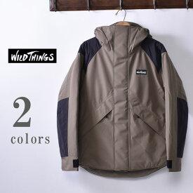 【WILDTHINGS 】ワイルドシングスDENALI JACKET(WT19101N)デナリ ジャケット全2色(TAUPE・BLACK)z10x