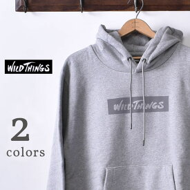 【WILDTHINGS】ワイルドシングスBOX REF HOODY(WT21135N)ボックスレフフーディー スウェットパーカーボックスロゴ リフレクター全2色z10x