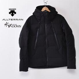 【DESCENTE】デサントALLTERRAIN オルテラインMizusawa Down 水沢ダウンMountaineer マウンテニア(DAMSGK30U)(BK)Black ブラックz10x