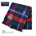 イギリス製【Tweedmill Textiles】ツイードミル テキスタイルJULA TARTAN KNEE RUG WOOL BLANKETタータンチェック ウ…