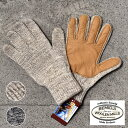 ★クーポンで更に10%OFF!★70%OFF♪SALE特価!Made in USA【BEMIDJI】べミジRagg Wool Glove Deer Palm ウ...