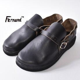 【Fernand Leather】フェルナンドレザーMIDDLE ENGLISH ミドルイングリッシュBLACK(ブラック)