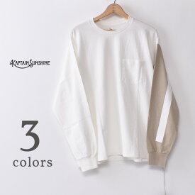 【KAPTAIN SUNSHINE】キャプテンサンシャインWest Coast Long Sleeved TeeウエストコーストロングスリーブT長袖Tシャツ全3色