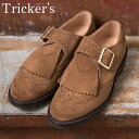 ★40%OFF♪SALE特価!正規品 Made in England【Tricker's】トリッカーズM7822 メリージェーンSnuff(ブラウンスウェード)
