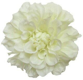 S−5003 フランシスダリア オフホワイト【シルクフラワー】【アートフラワー】【造花】【花資材】【花材】【松村工芸】