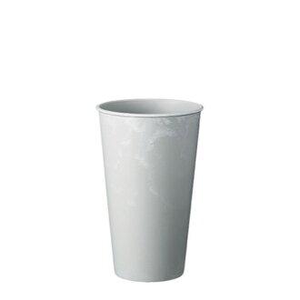 レシクラバケポット 24 white gray
