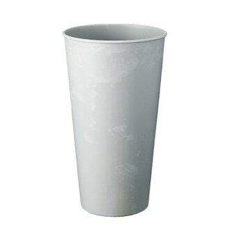 レシクラバケポット 33 white gray