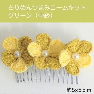 Crepe snacks comb kit green (intermediate) (entering one set)