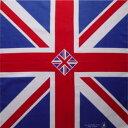 ☆イギリス国旗バンダナ「綿100%・日本製」【コットンハウス】