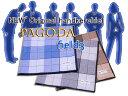 NEW'メンズハンカチーフオリジナルブランド[PAGODA・field3]【コットンハウス】【RCP】