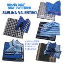 2020 新柄入荷!!ブランド「SABLINA VALENTINO」メンズハンドタオルハンカチ3枚組千円ポッキリ!父の日に・プチギフ…