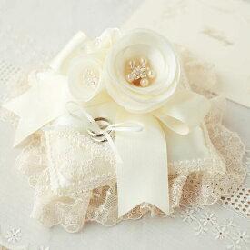【10%OFF】 リングピロー 手作りキット リングピローキット カメリアのリングピロー [ハマナカ ジュノー] 【手作り】【キット】【ウェディング】【ブライダル】【結婚式】【結婚祝い】【結婚】【お祝い】【プレゼント】