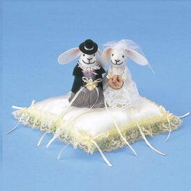 【12%OFF】 リングピロー 手作りキット リングピローキット ウサギのリングピロー クリーム [パナミ] 【手作り】【キット】【ウェディング】【ブライダル】【結婚式】【結婚祝い】【結婚】【お祝い】【プレゼント】