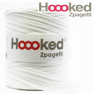Hoooked Zpagettiフックドゥ・ズパゲッティ ホワイト(単位1個)(生産ロットにより色の違いあり)DMC/ディーエムシー/ズパゲティ/カバン/バッグ/小物/手編み/編み物/毛糸/ハンドメイド/手づく