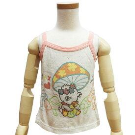 子供服 子供用タンクトップ キャミソール Tシャツ 女の子用 カットソー ノースリーブ リハイ 100cm 110cm ジェニー SSS ハロウィン