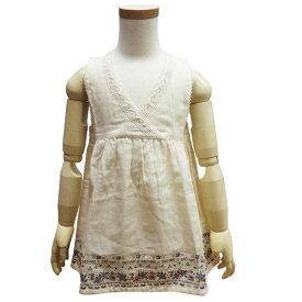 子供服 キッズ チュニック ガーゼ 重ね着 女の子用 ワンピース ノースリーブ ミアメール 95cm 100cm 丸高衣料 SSS ハロウィン