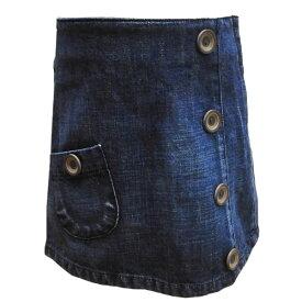 子供服 子供用スカート デニムスカート スカート キッズスカート スタジオミニ 100cm 丸高衣料 SSS ハロウィン