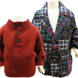 ベビー服 ジャケット セーター ベビーセーター 2点セット ギャップ ジンボリー 1歳 70〜80cm 【アメリカ買付商品】