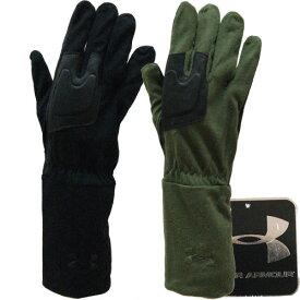 UNDER ARMOUR アンダーアーマー メンズ 手袋 オシャレ手袋 モダール レザー 革 ブラック カーキ 【アメリカ買付商品】