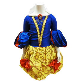 ハロウィン ドレスコスチューム なりきり パーティドレス キッズドレス ディズニープリンセス 白雪姫 120cm 130cm 【アメリカ買付商品】