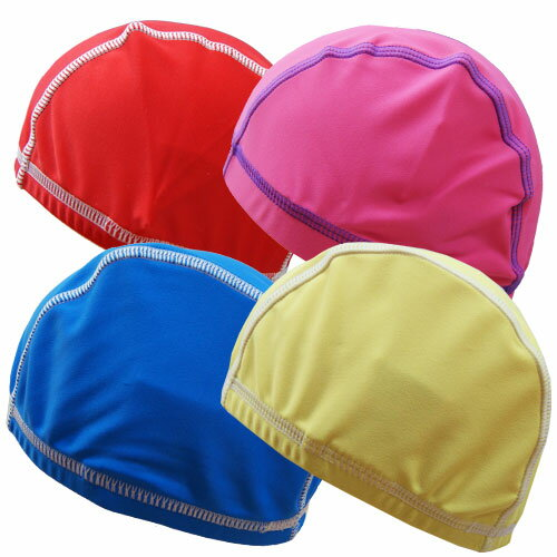 キッズ用 ベビー用 水泳帽 スイミングキャップ 無地 子供用 UVカット KidsForet キッズフォーレ 48cm 50cm 52cm 54cm