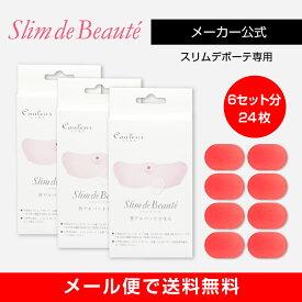 【メーカー正規品】スリムデボーテ専用交換用ゲルパッド3箱(交換6回分)/Slim de Beaute PAD 《メール便で送料無料》