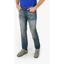 DIESEL/ディーゼル Blue メンズ 18cm Stone Washed BUSTER Slim Fit Jeans L32 dk