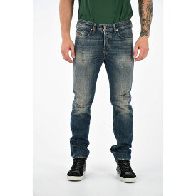 DIESEL/ディーゼル Blue メンズ Stonewashed Denim BUSTER L.32 Jeans dk