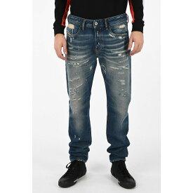 DIESEL/ディーゼル Blue メンズ 18cm Distressed BUSTER L.32 Jeans dk