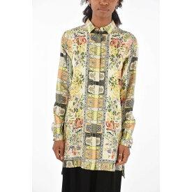 ETRO エトロ Multicolor シャツ レディース floral-print silk oversized blouse 【関税・送料無料】【ラッピング無料】 dk