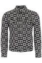 DOLCE&GABBANA/ドルチェ&ガッバーナ デニムジャケット DG CORONE FDO NERO Dolce & gabbana logo denim jacket メンズ…