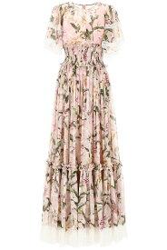 DOLCE&GABBANA/ドルチェ&ガッバーナ ドレス GIGLI FDO ROSA Dolce & gabbana lily print dress レディース 秋冬2019 F6E3OT HS147 ik
