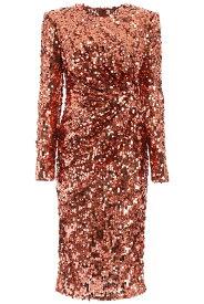 DOLCE&GABBANA/ドルチェ&ガッバーナ ドレス RAME Dolce & gabbana sequined dress レディース 秋冬2019 F6F9TT FLSA8 ik