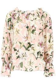 DOLCE&GABBANA/ドルチェ&ガッバーナ ブラウス GIGLI FDO ROSA Dolce & gabbana lily print blouse レディース 秋冬2019 F73R5T HS15F ik