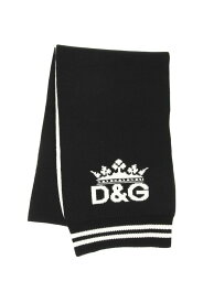 DOLCE&GABBANA/ドルチェ&ガッバーナ スカーフ VARIANTE ABBINATA Dolce & gabbana d&g tricot scarf メンズ 秋冬2019 GX690T JAWOJ ik
