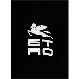 ETRO エトロ Black 'Les Paul' T-shirt Tシャツ レディース 秋冬2021 1855091260001 【関税・送料無料】【ラッピング無料】 ju