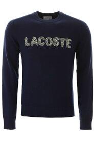 【1万円以上の購入で1000円OFFクーポンゲット】【ポイント5倍】LACOSTE/ラコステ トレーナー BLUE Lacoste logo sweatshirt メンズ 秋冬2019 AH8547 00 ik