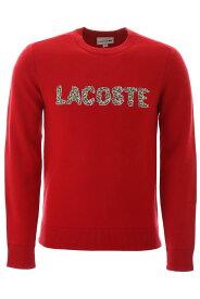 【1万円以上の購入で1000円OFFクーポンゲット】【ポイント5倍】LACOSTE/ラコステ トレーナー RED Lacoste logo sweatshirt メンズ 秋冬2019 AH8547 00 ik