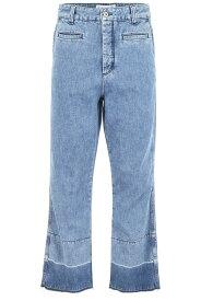 LOEWE/ロエベ デニムパンツ BLUE Loewe fisherman jeans メンズ 春夏2019 H2192520IB ik