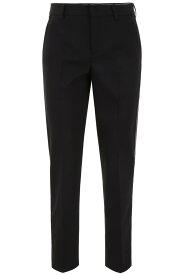 MIU MIU/ミュウ ミュウ ドレスパンツ NERO Miu miu tuxedo trousers with sequins レディース 春夏2019 MP1266 1SW1 ik