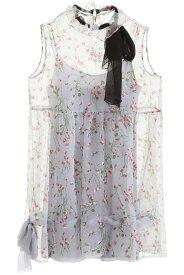 MIU MIU/ミュウ ミュウ ドレス GHIACCIO Miu miu floral-printed mini dress レディース 秋冬2019 MF3494 1T17 ik