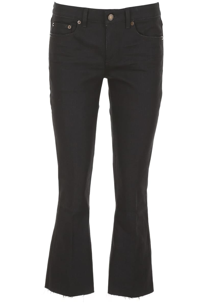 SAINT LAURENT PARIS/イヴ・サンローラン デニムパンツ NERO Saint laurent bootcut jeans レディース FW2018 543074 YF869 ik