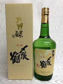 2020年11月 〆張鶴 大吟醸 銀ラベル 720ml 専用箱入り (宮尾酒造) (新潟県)
